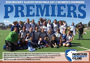 Div 2 Women Premiers!