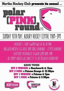 Pink Round Flyer
