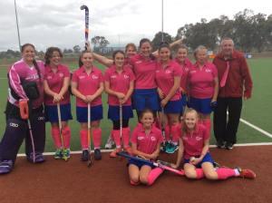 Division 3 Ladies Pink Round