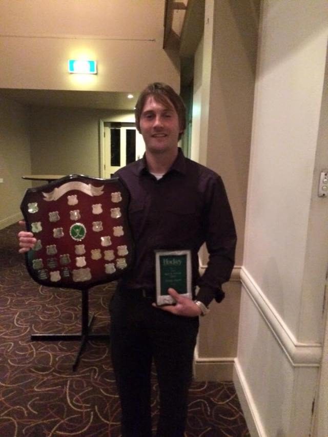 Jeremy Payne - Winner Division 1 Men's Best and Fairest 2015