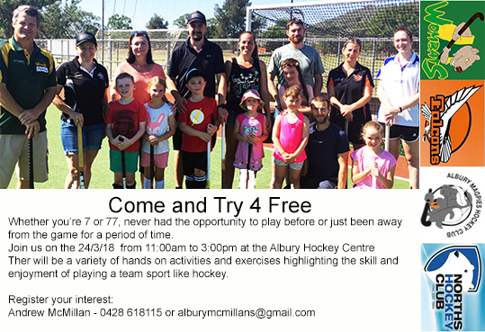 Come Try Hockey
